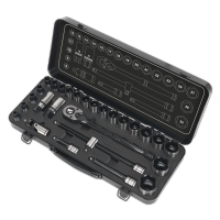 "28pc 1/2"" Sq Drive WallDrive®️ Socket Set - Metric Black Series. AK7972"